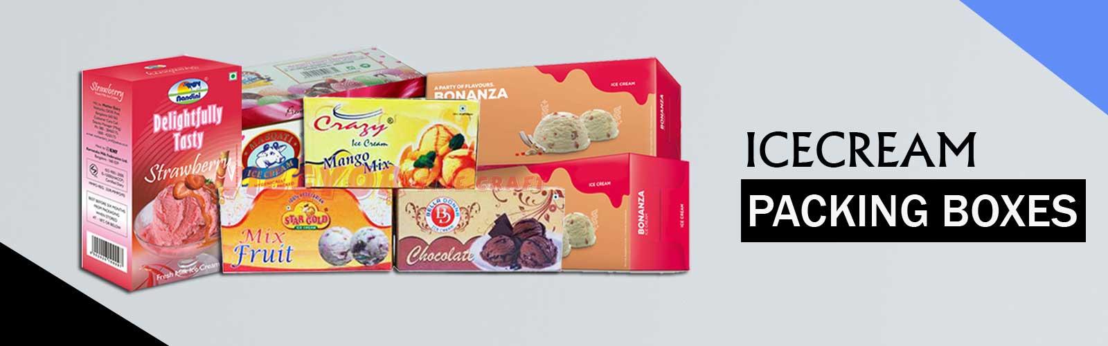 750ml Ice cream Boxes