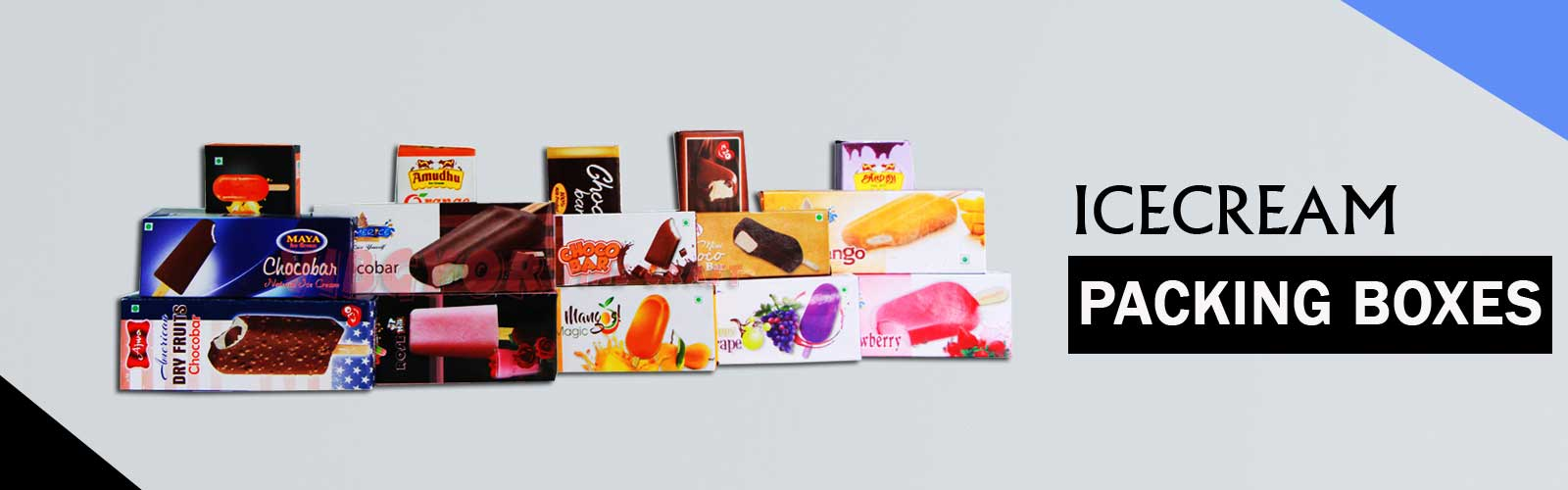 Chocobar Ice cream Boxes