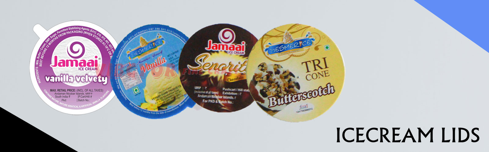 Ice Cream Lids