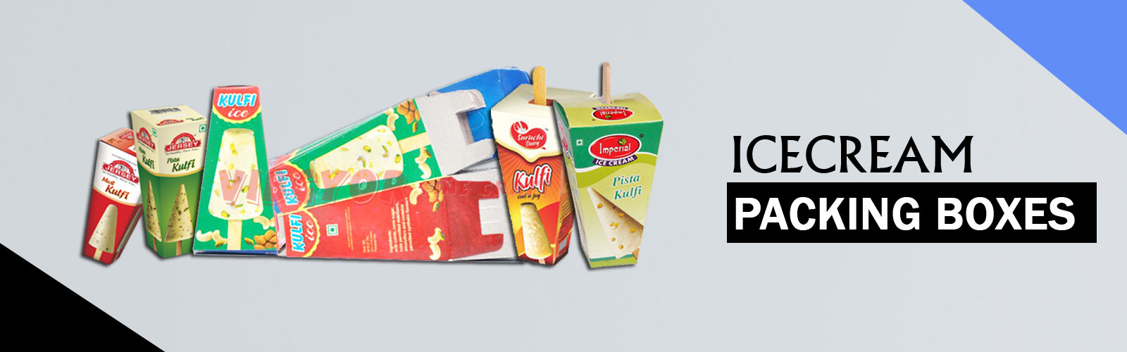 Kulfi Ice cream Boxes