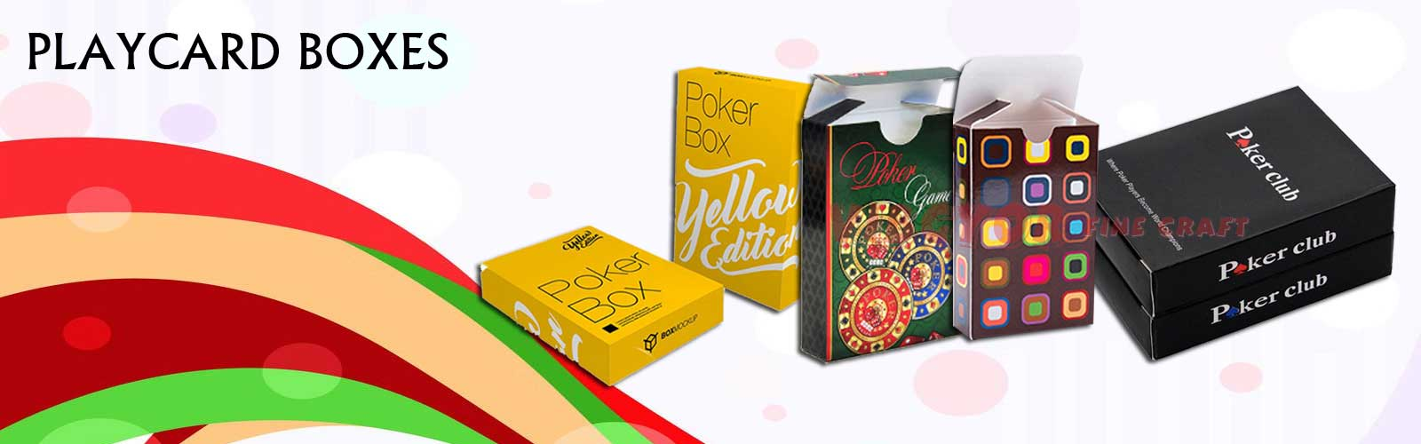 Play Card Boxes
