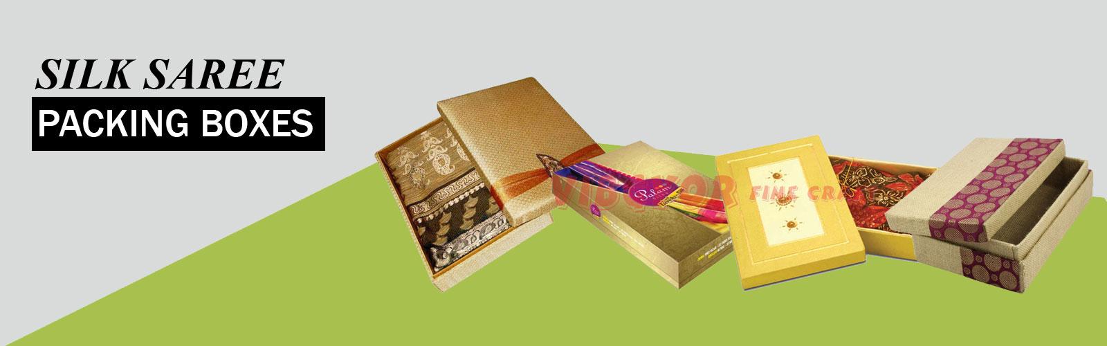 Silk Saree Boxes